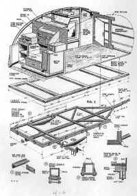 Build A Travel Trailer Popular Mechanics