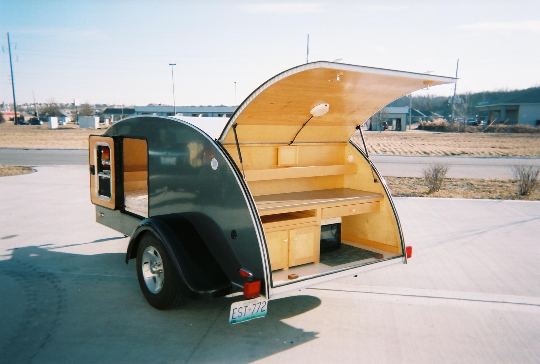 used teardrop trailer