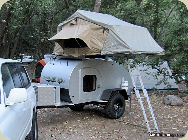 Mattress For Teardrop Trailer So-Cal Teardrops - Options - Options - ARB Rooftop Tent - Electrical