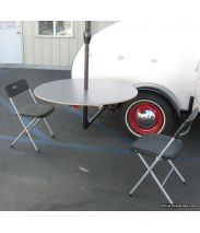 Removable 40' Round / Cafe' Table