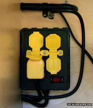 110 Volt Interior Outlet