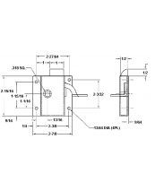 Cab lock CAD Drawing